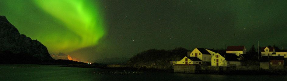 Northern Lights at Lofoten islands