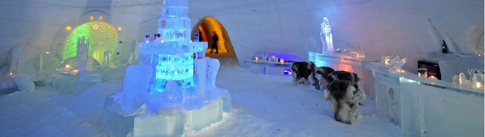 Photo credits: Snow Hotel Kirkenes