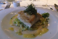 Halibut at Emma's. Photo Rita de Lange/Fjord Travel Norway