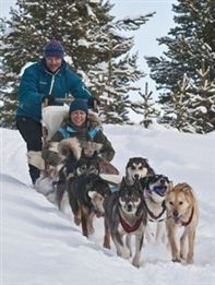 Dog sledding. Photo CH/Innovation Norway