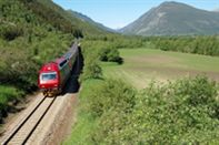Dovre train line Norway. Photo Leif Jolestad/NSB