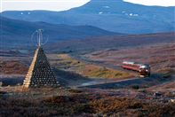 Nordland train line Photo Rune Fossum/NSB