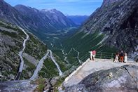 Trollstigen hairpin road. Photo Terje Rakke, Nordic life/Innovation Norway