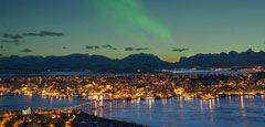 Northern Lights Tromso. Photo Bard Loken/Destinasjon Tromso