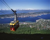 Tromso view. Photo Frithjof Fure/Innovation Norway
