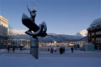 Tromso winter. Photo Bjornar Hansen/Destin. Tromso