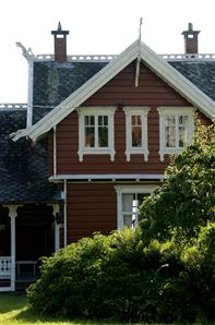 Wooden villa in Balestrand. Photo CH/Innovation Norway