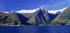 Sognefjord, view towards Balestrand village. Photo Frithjof Fure/Innovation Norway