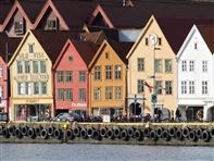 Bergen UNESCO Bryggen wharf. Photo credit Rita de Lange/Fjord Travel Norway