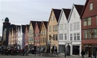 Bergen Bryggen wharf. Photo Rita de Lange/Fjord Travel Norway