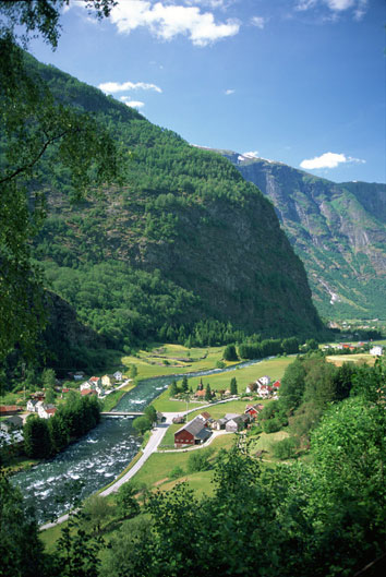 Flam railway. Photo EA Vikesland, Flam Utvikling