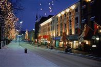 Winter at Karl Johan street in Oslo. Photo Frits Solvang/VisitOslo