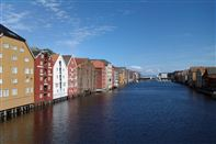 Trondheim. Nidelven river. Photo Rita de Lange/Fjord Travel Norway