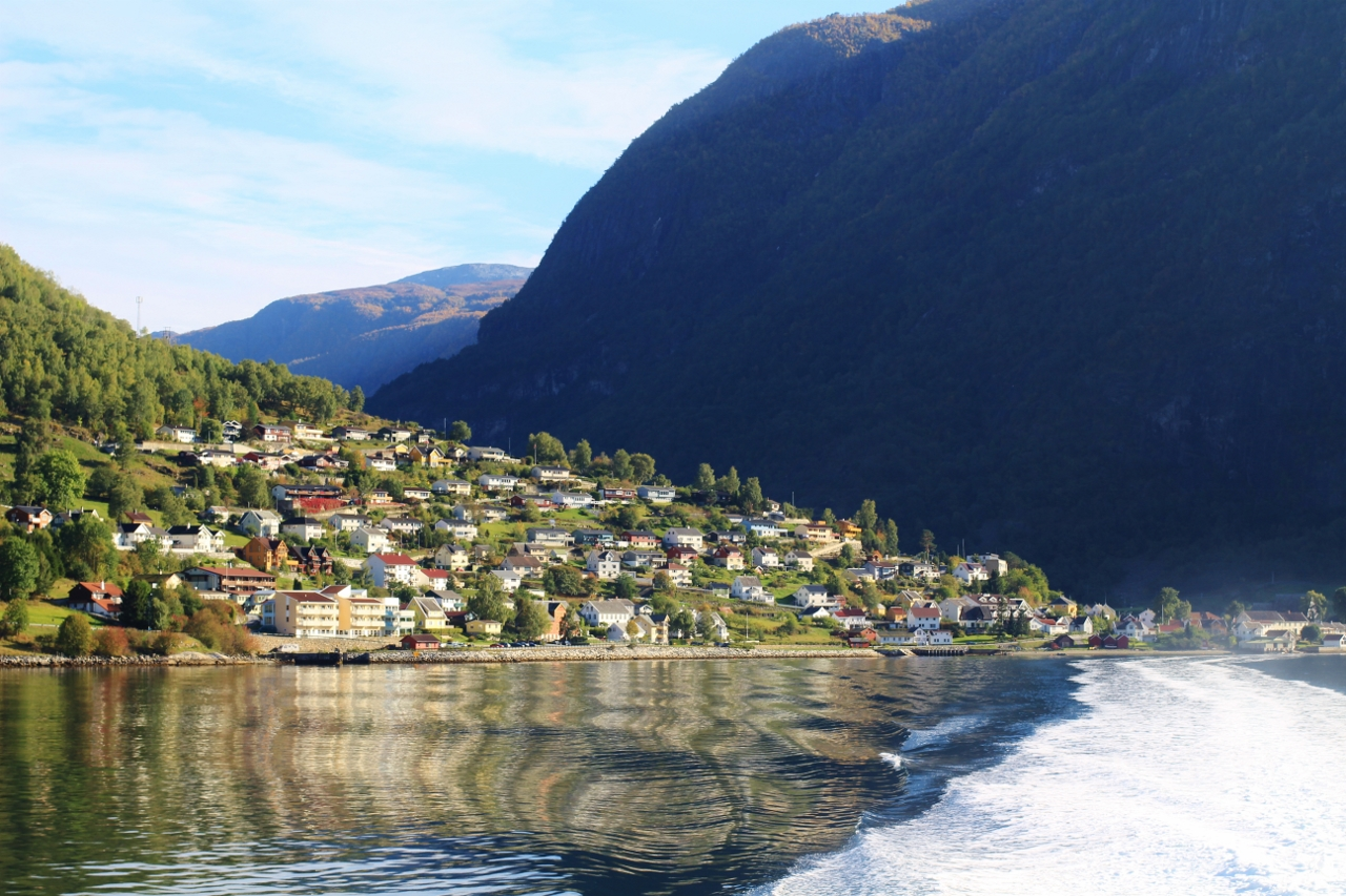 The Aurlandsfjord. Photo Rita de Lange, Fjord Travel Norway