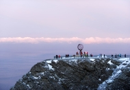 North Cape. Photo Trym Ivar bergsmo/Hurtigruten