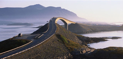Atlantic ocean road. Photo by Terje Rakke, Nordic life/Innovation Norway