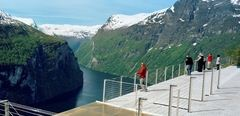 Geirangerfjord view from Eagles road. Photo CH/Innovation Norway