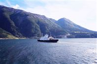Hardangerfjord ferry crossing. Photo by Rita de Lange, Fjord Travel Norway