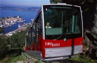 Bergen funicular. Photo by Terje Rakke, Nordic life, Fjord Norway
