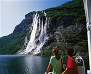 Geirangerfjord waterfalls. Photo Frithjof Fure/Innovation Norway