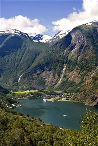The Aurlandsfjord. Photo by Morten Rakke, Flam Utvikling