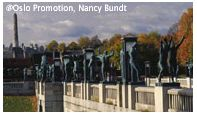 Vigeland Sculpture Park. Photo Nancy Bundt, Oslo Promotion