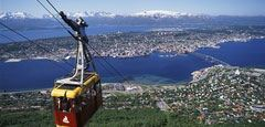 Tromso & surrounding Arctic scenery. Photo Frithjof Fure/Innovation Norway