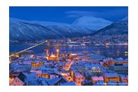 Tromso twilight. Photo Bard Loken/Destinasjon Tromso